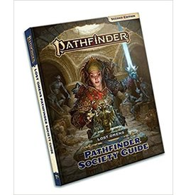 Paizo Pathfinder 2E - Lost Omen's Pathfinder Society Guide