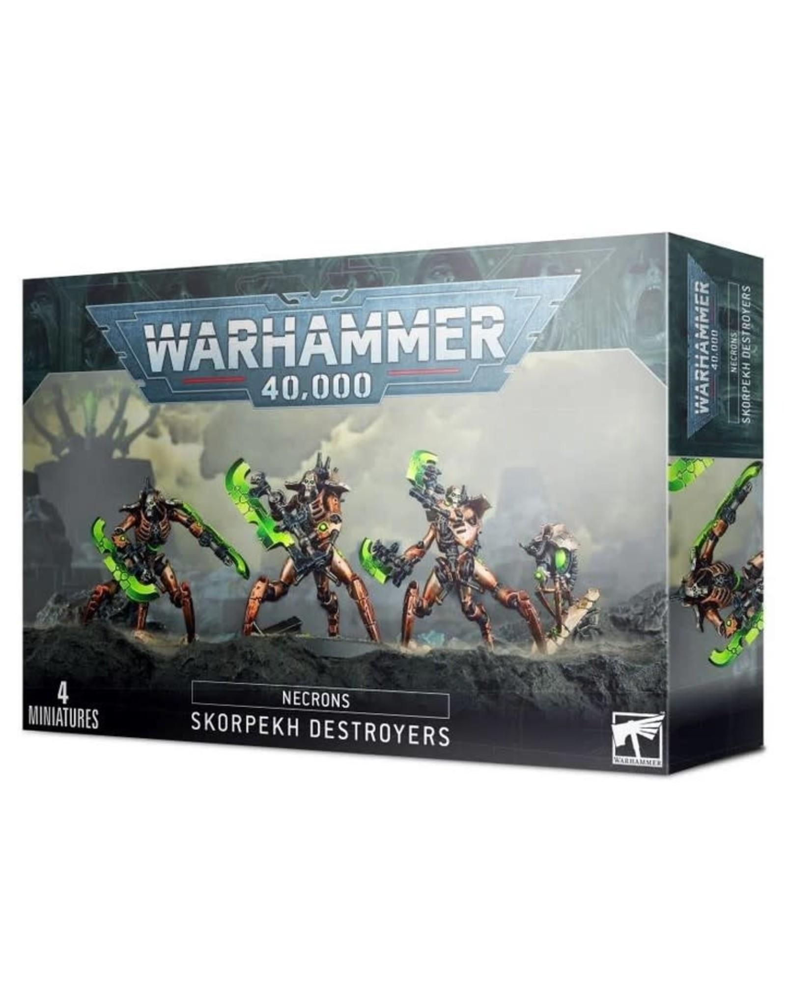 Warhammer 40K WH40K Necrons Skorpekh Destroyers