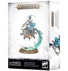 Warhammer AoS WHAoS Magister on Disc of Tzeentch