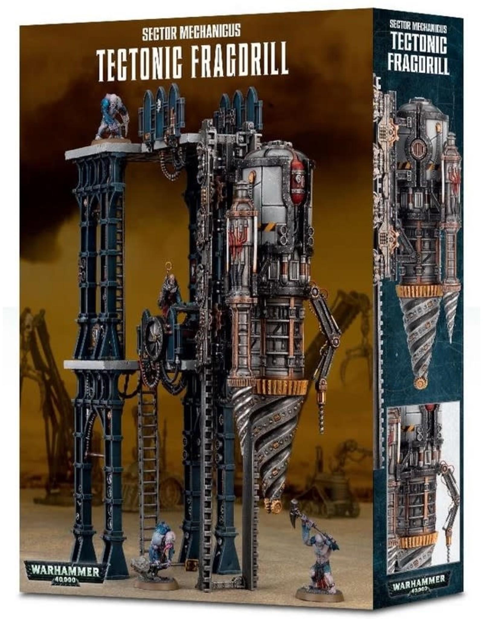 Games Workshop WH40K Tectonic Fragdrill