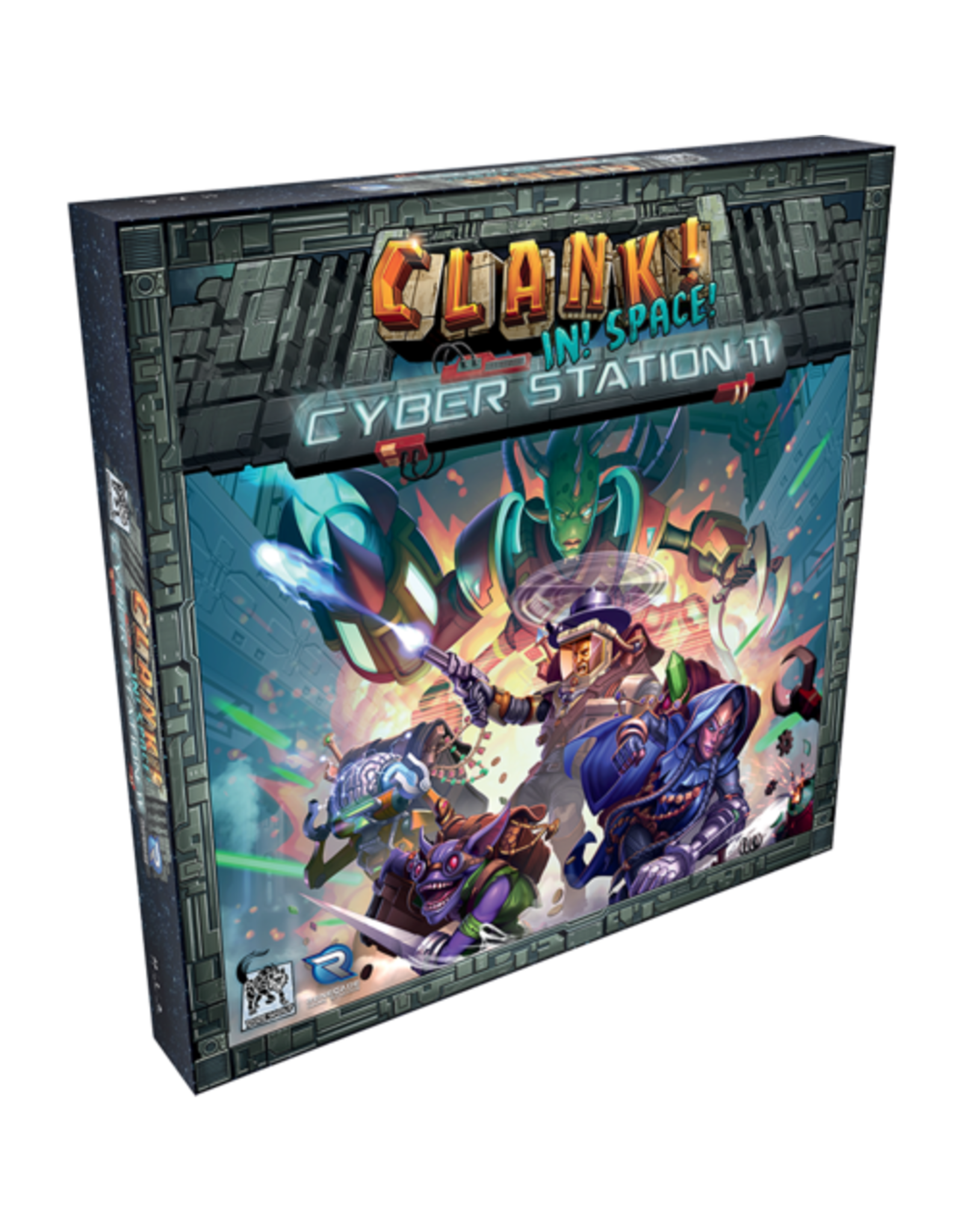 Renegade Game Studios Clank In Space!: Cyber Station 11 Expansion