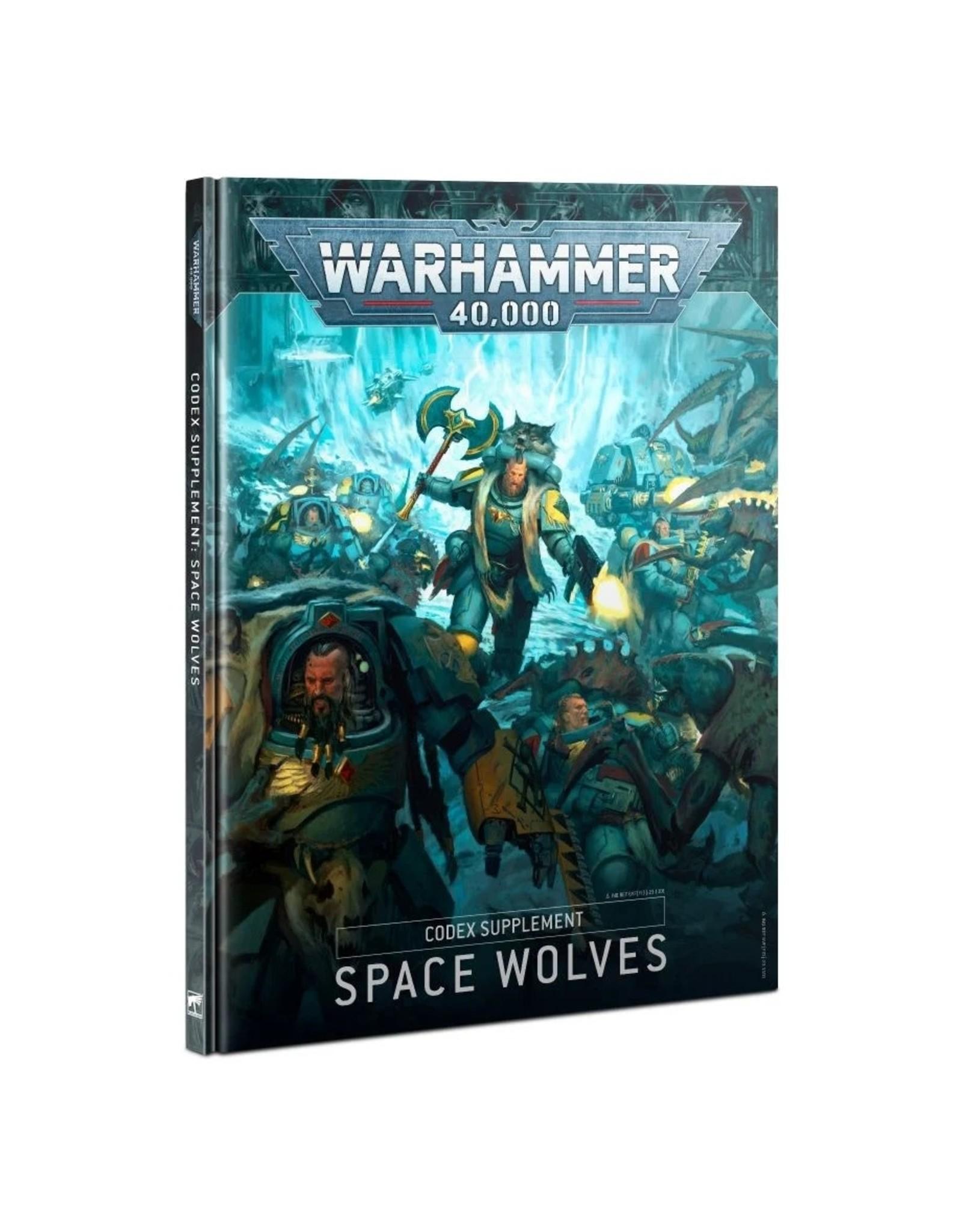 Games Workshop WH40K Codex Supplement: Space Wolves