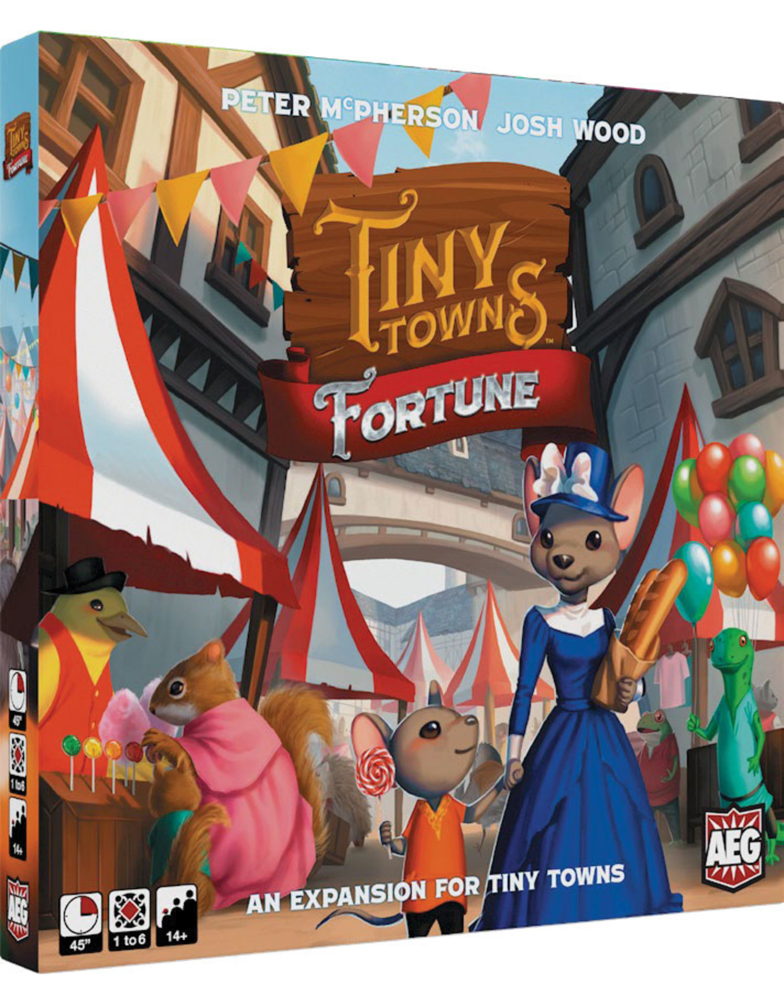 Alderac Entertainment Group Tiny Towns - Fortune