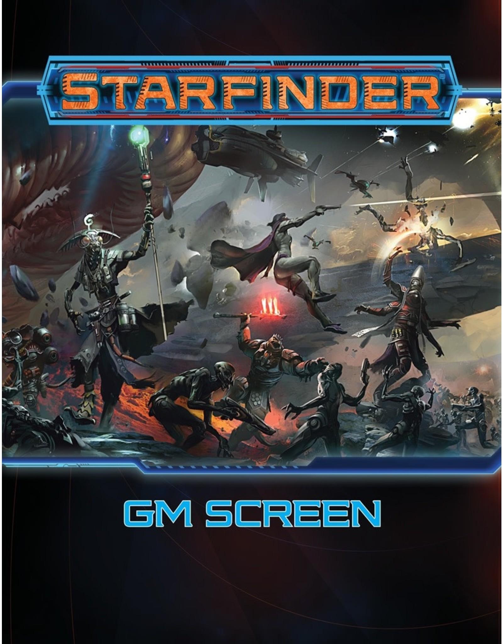 Paizo Starfinder GM Screen