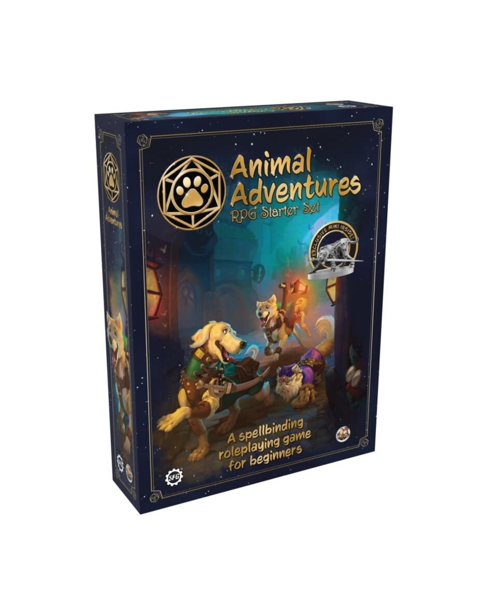 Steam Forged Games Animal Adventures: Starter Set