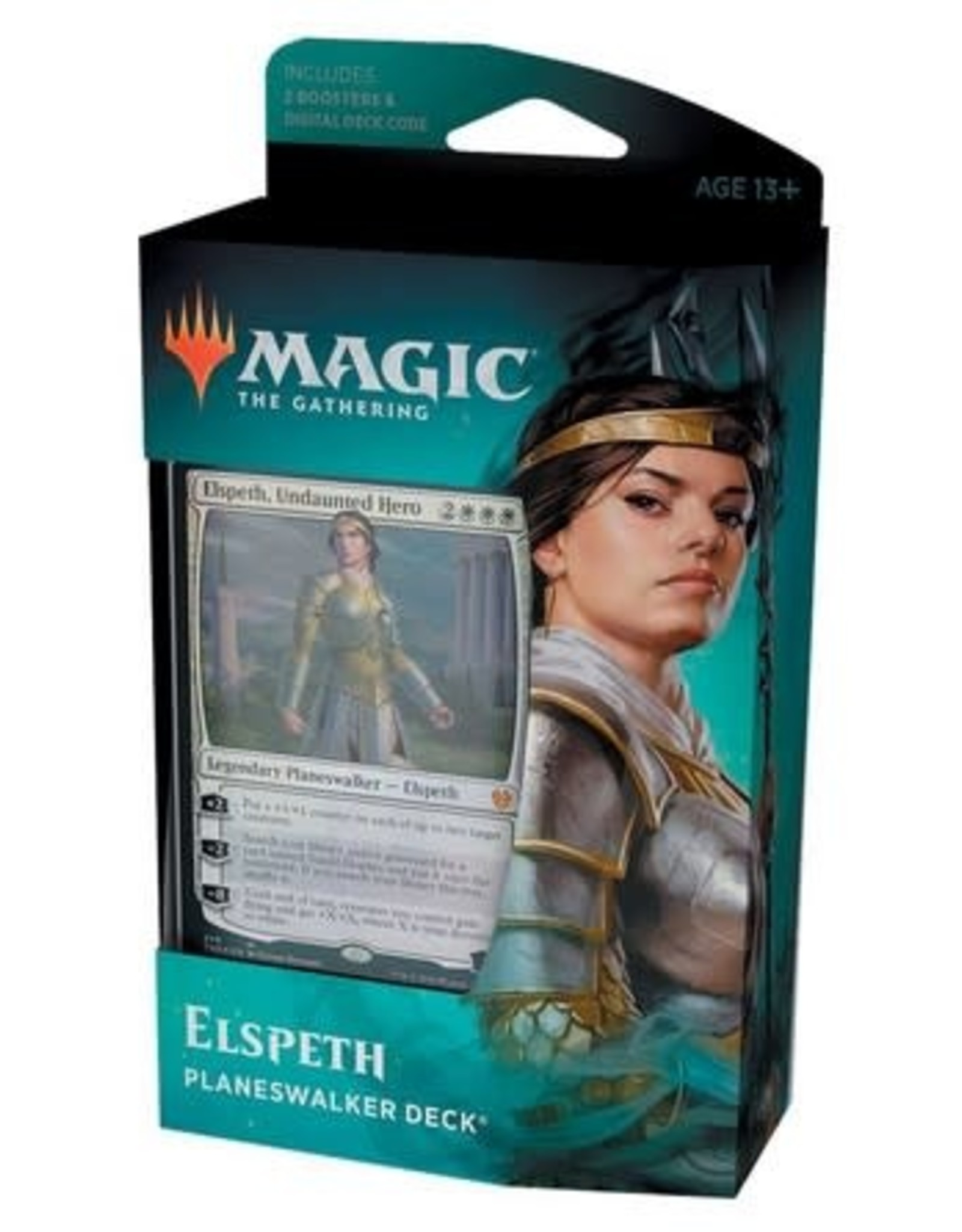 Wizards of the Coast MtG Theros Beyond Death Elspeth Planeswalker Deck