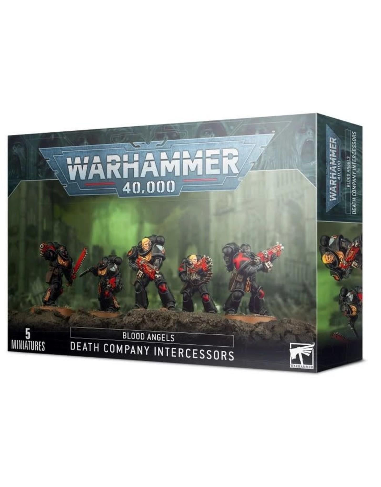 Games Workshop WH40K Blood Angels Death Company Intercessors
