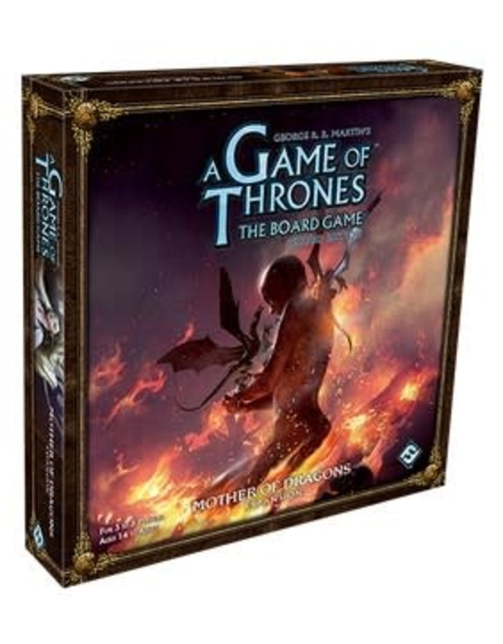 Fantasy Flight Games A Game of Thrones 2nd Ed: Mother of Dragons Expansion