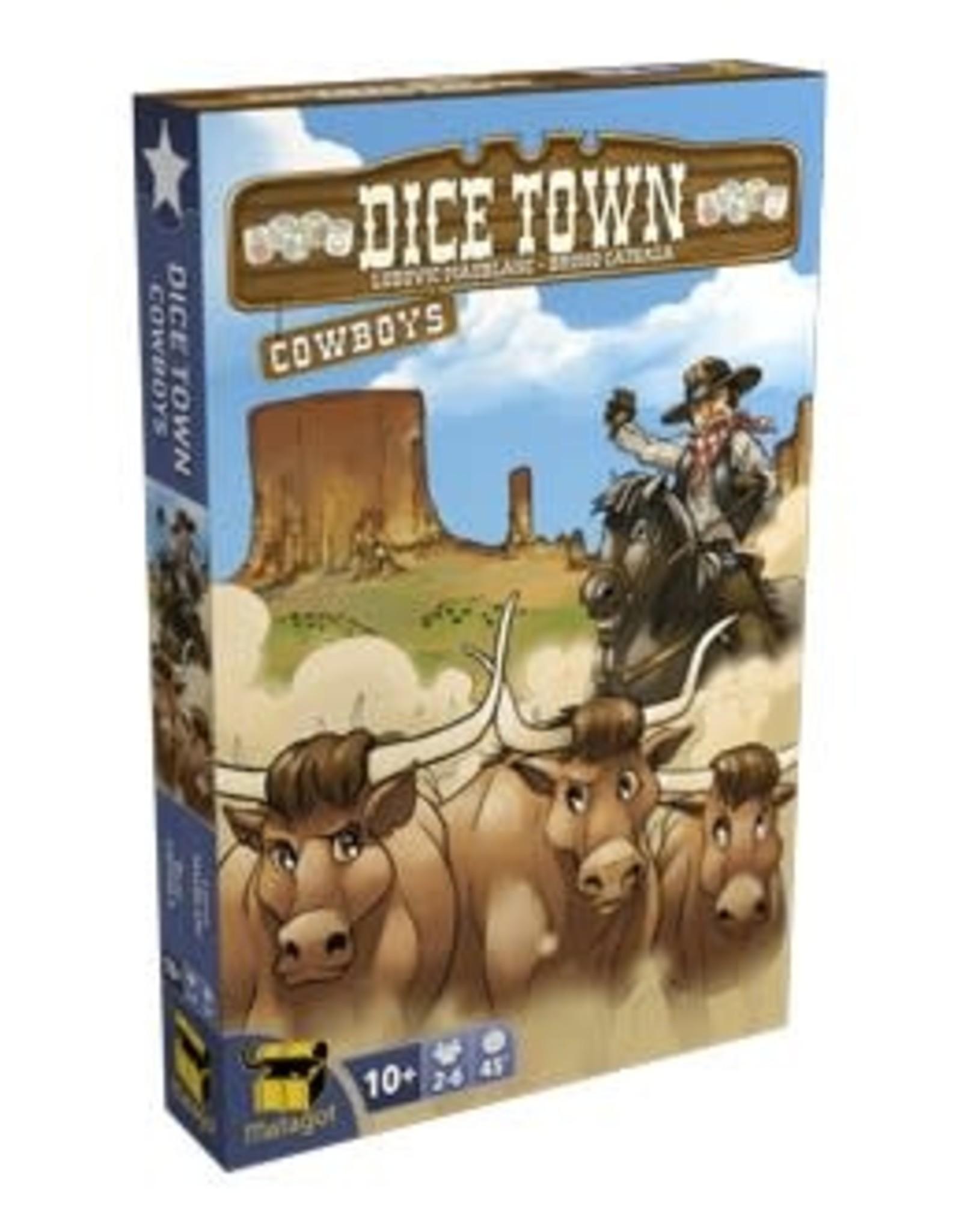 Matagot Dice Town Cowboys