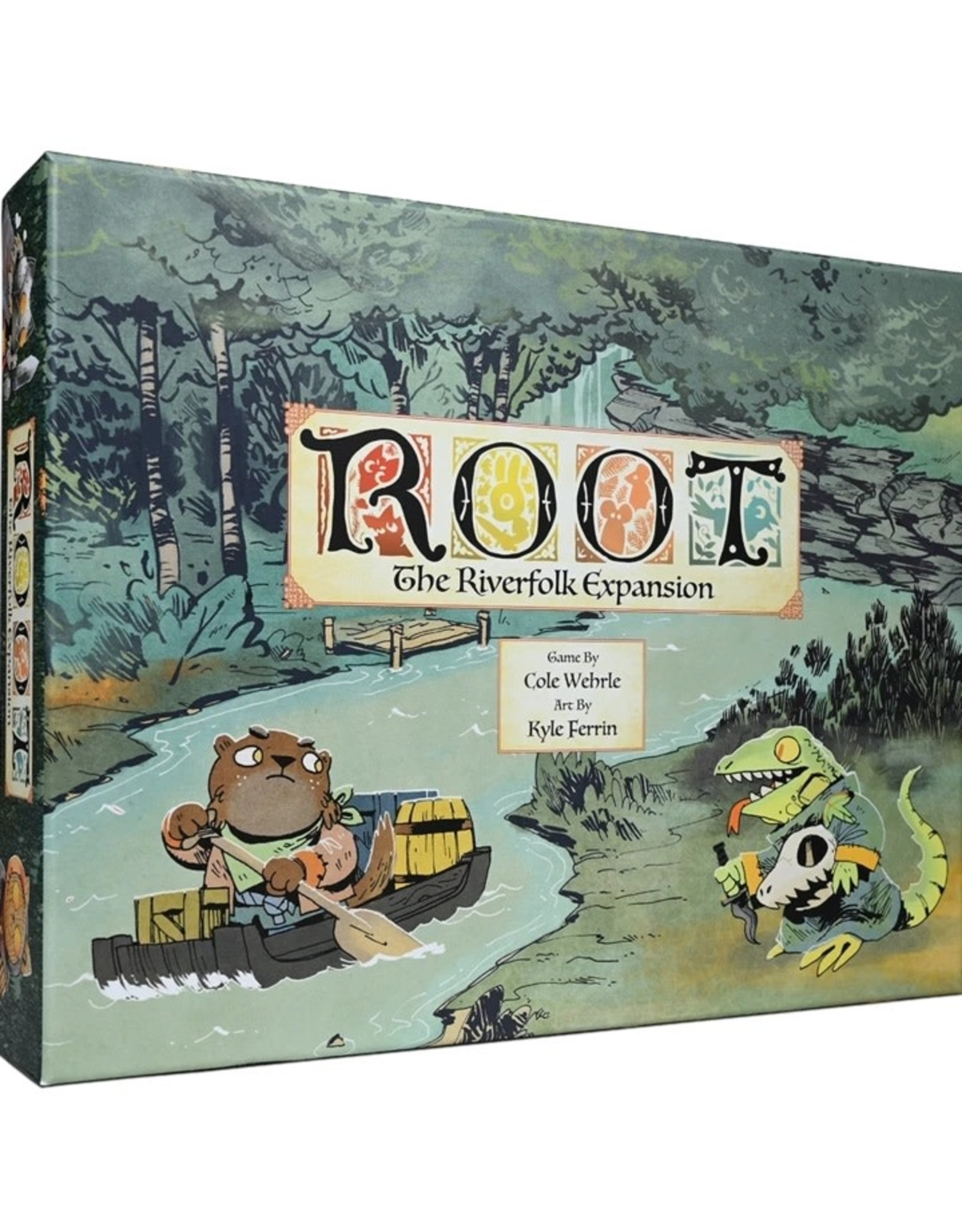 Leder Games Root - Riverfolk Expansion