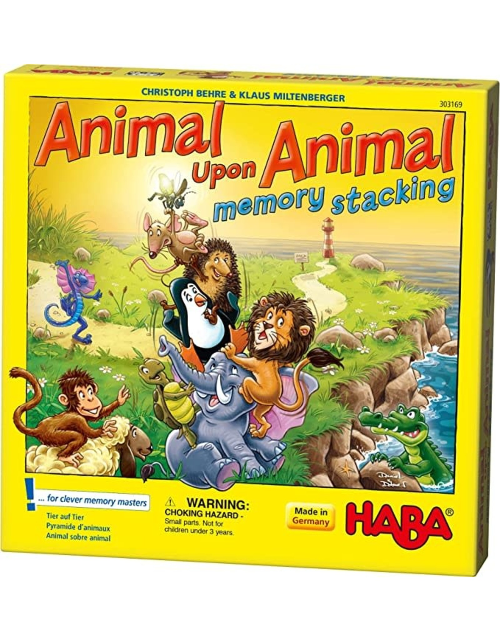 Haba Animal Upon Animal Memory Stacking