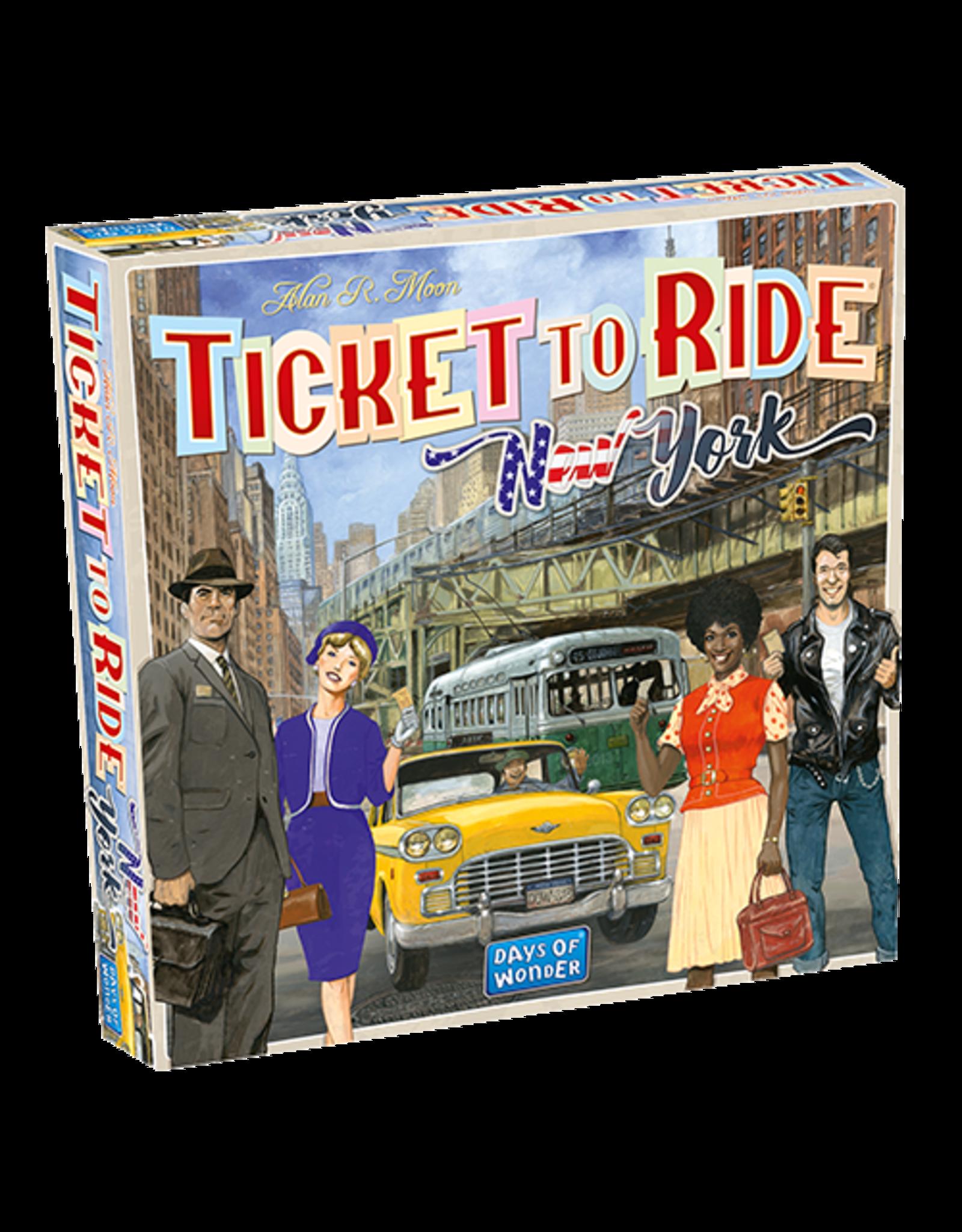 Days of Wonder Ticket to Ride New York