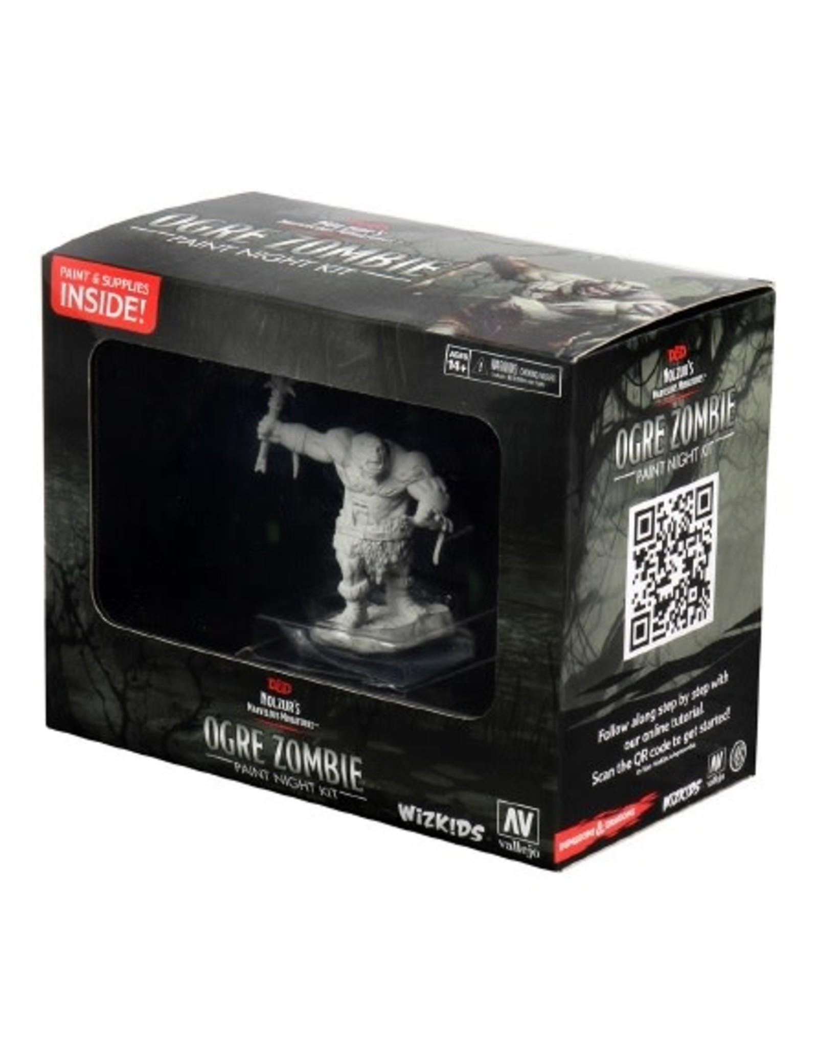 WizKids Dungeons & Dragons Nolzur's Marvelous Miniatures: Ogre Zombie Paint Night Kit
