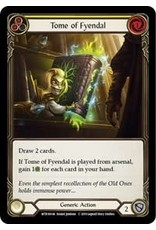Flesh and Blood Single : Tome of Fyendal Welcome to Rathe Unlimited Rainbow Foil