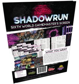 Catalyst Game Labs Shadowrun Game Master Screen