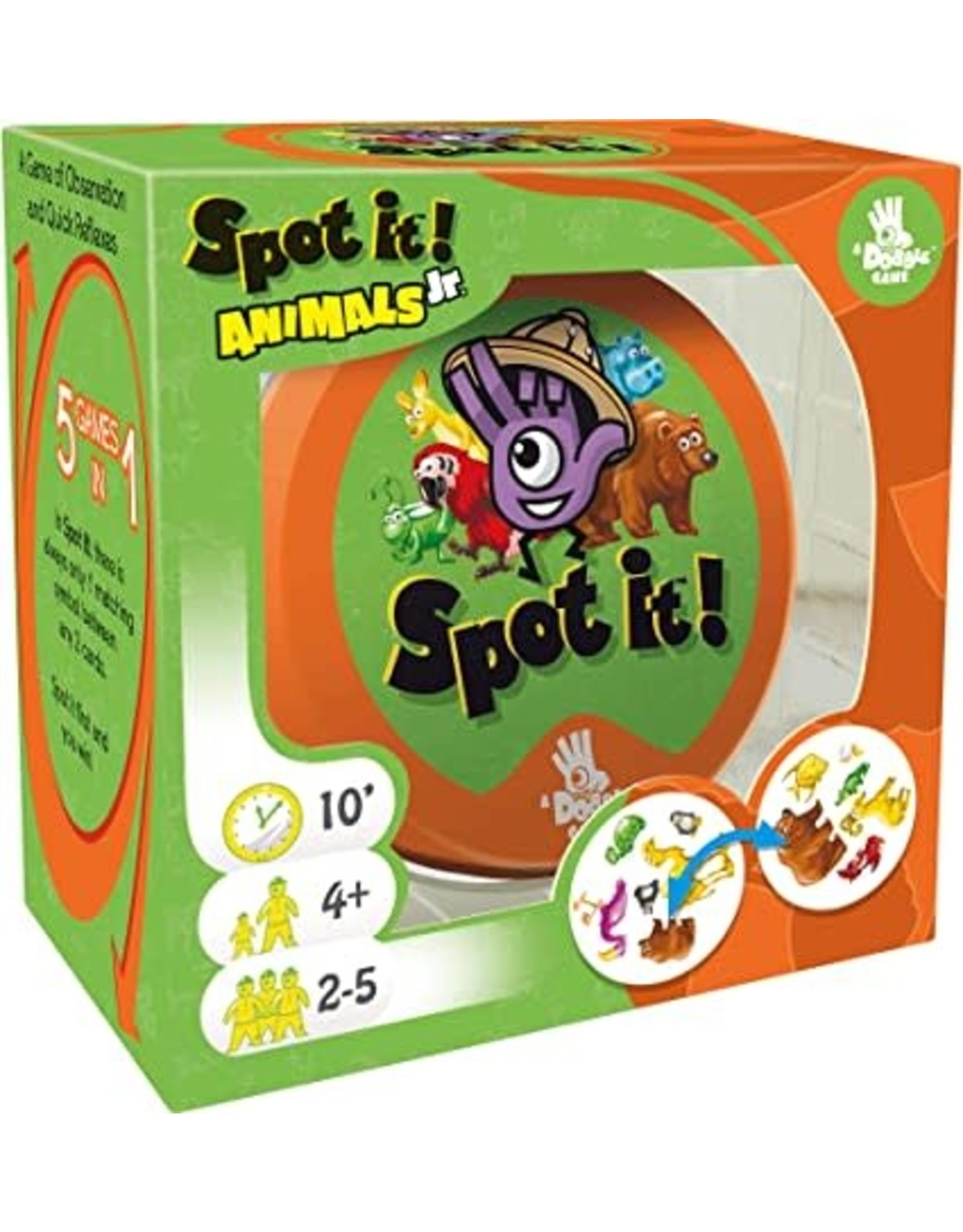 Asmodee Spot It Jr!: Animals