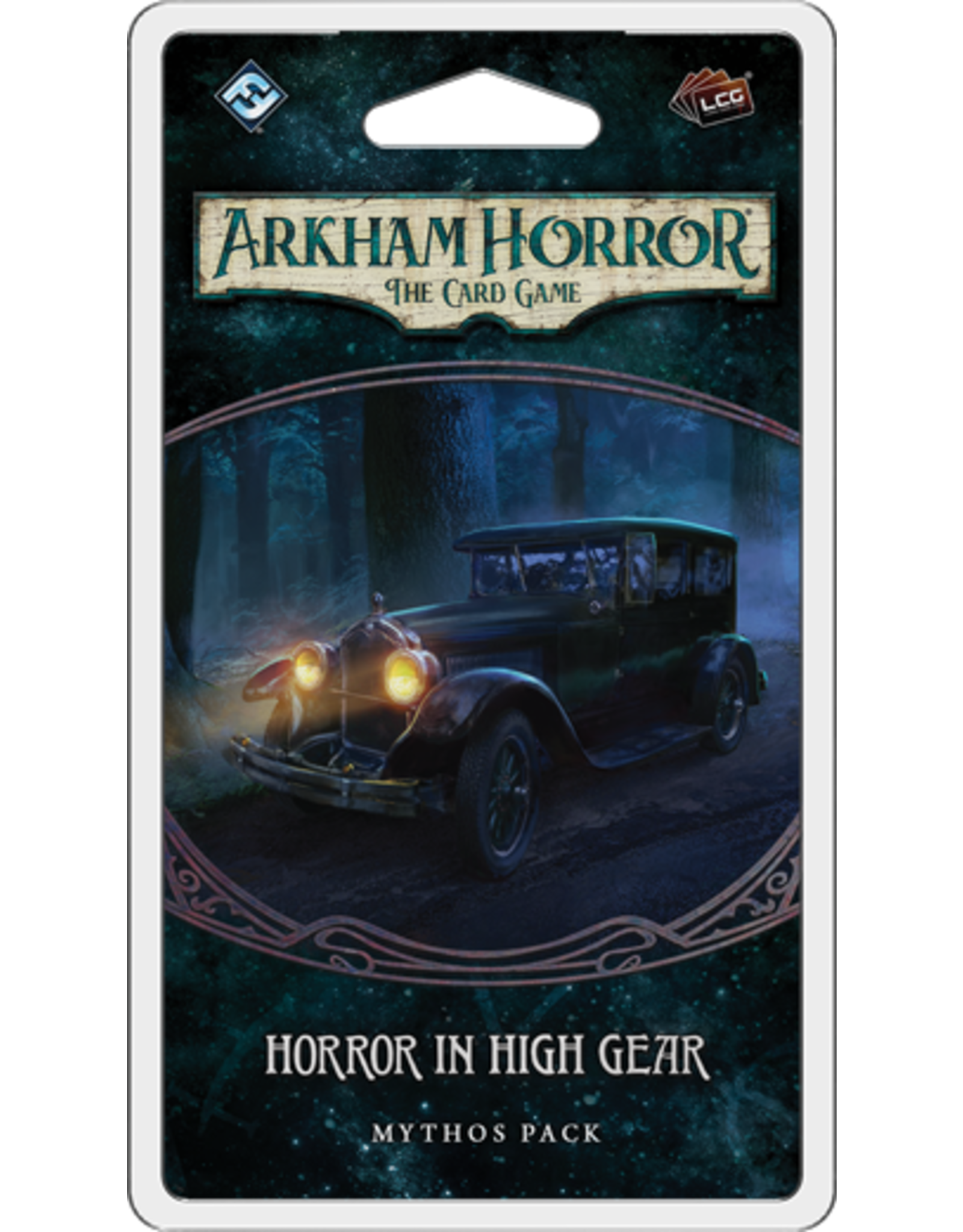 Fantasy Flight Games Arkham Horror LCG Horror in High Gear Mythos Pack