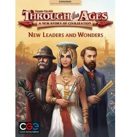Czech Games Edition Through the Ages: New Leaders & Wonders