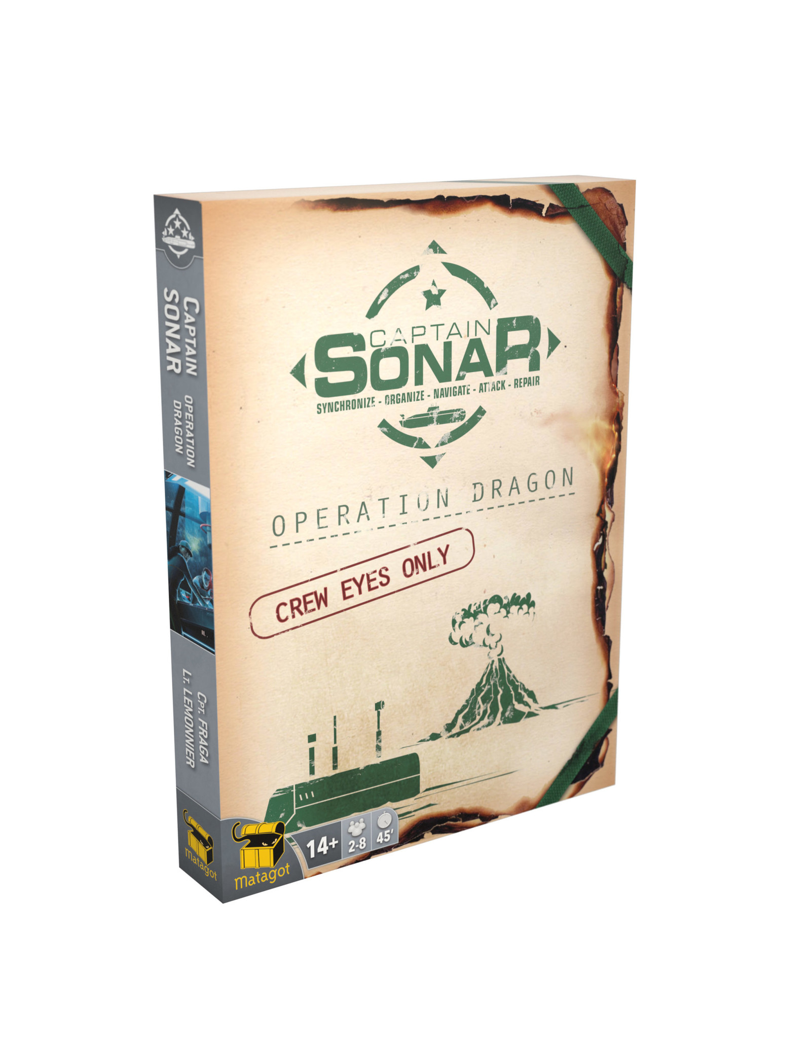 Asmodee Captain Sonar Operation Dragon