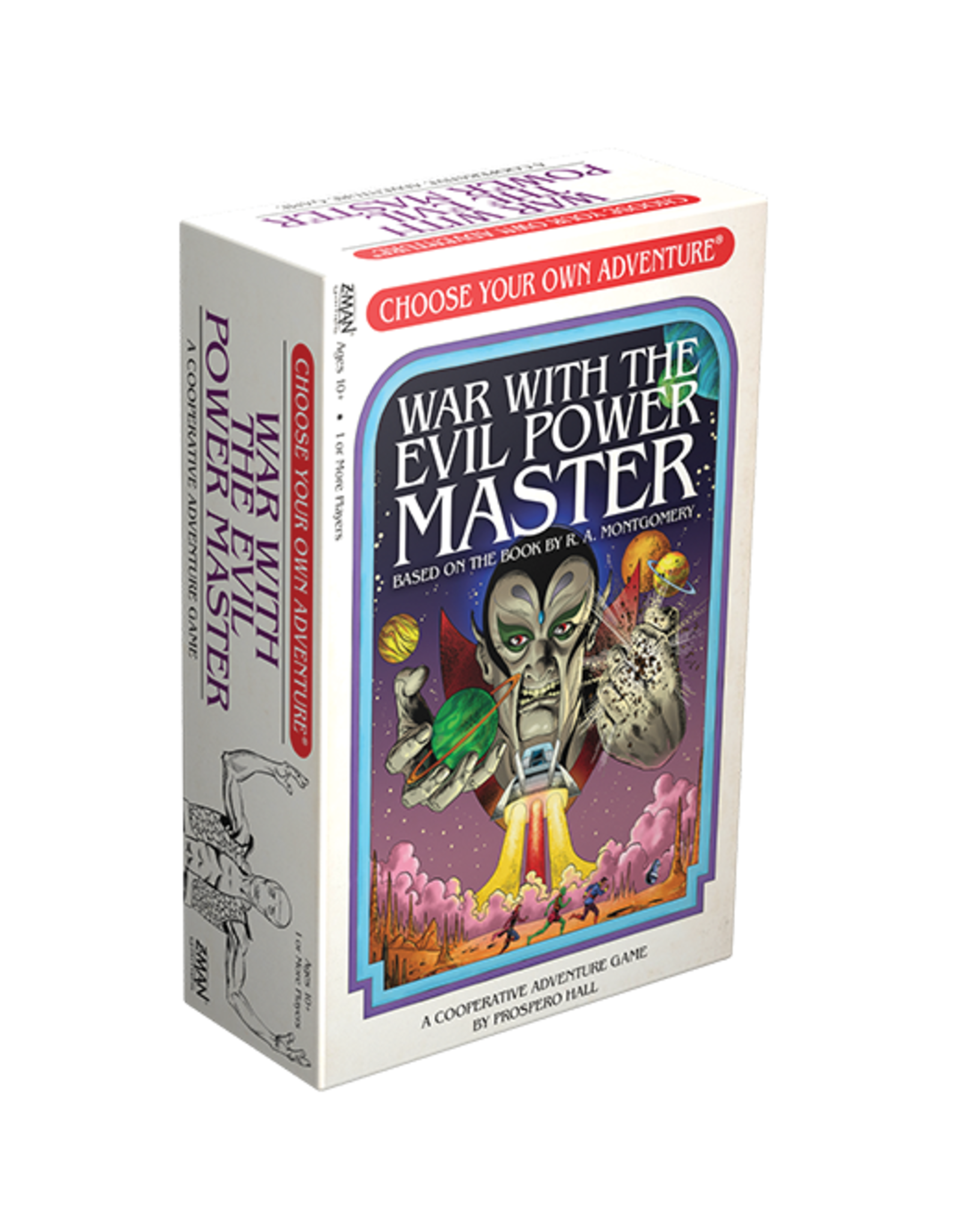 zman games Choose Your Own Adventure: War with the Evil Power Master