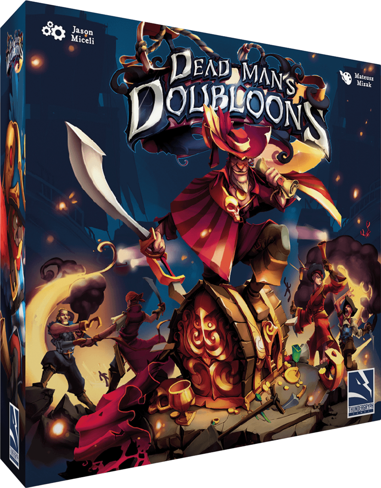 Thundergryph Games Dead Man's Doubloons
