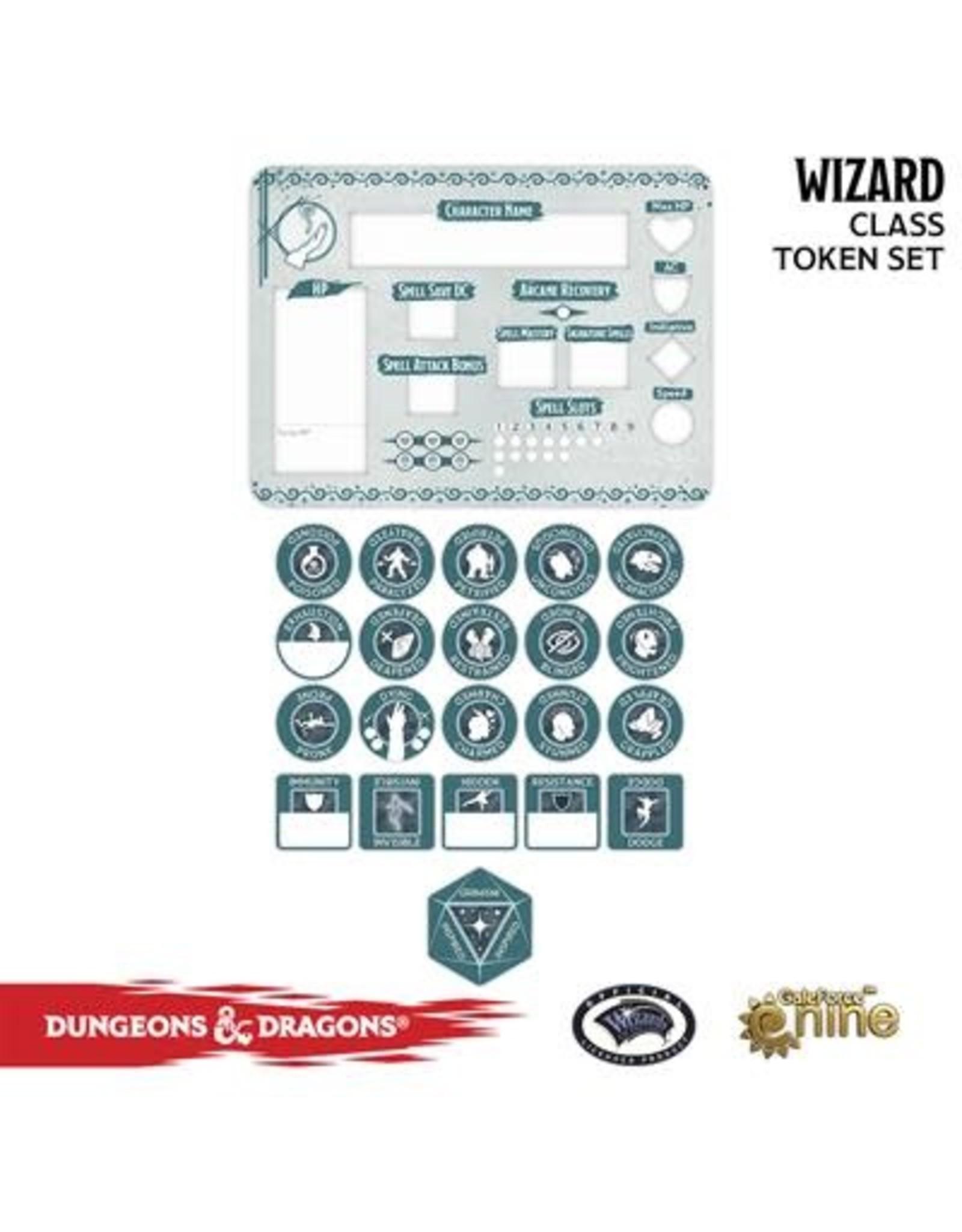 GaleForce nine D&D 5E: Player Token Set - Wizard
