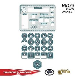 GaleForce nine D&D 5E: Player Token Set - Wizard