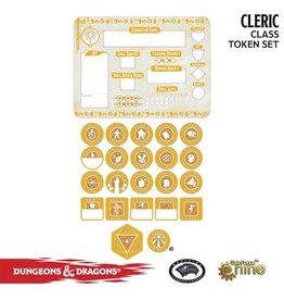 GaleForce nine D&D 5E: Player Token Set - Cleric