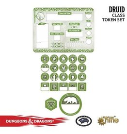 GaleForce nine D&D 5E: Player Token Set - Druid