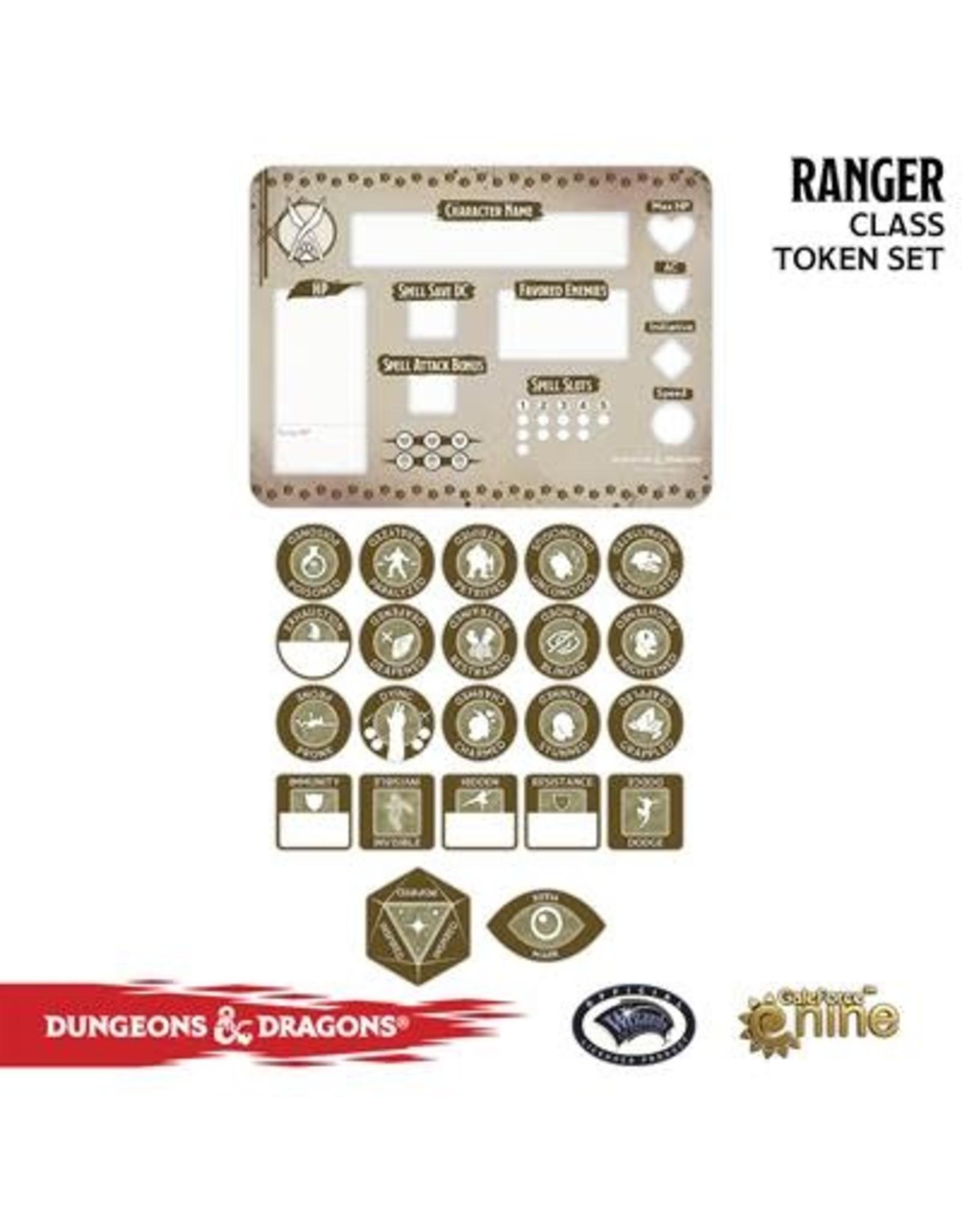 GaleForce nine D&D 5E: Player Token Set - Ranger