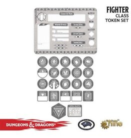 GaleForce nine D&D 5E: Player Token Set - Fighter