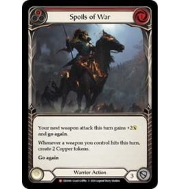 Legend Story Studios Flesh and Blood Single : Spoils of War Crucible of War Rainbow Foil