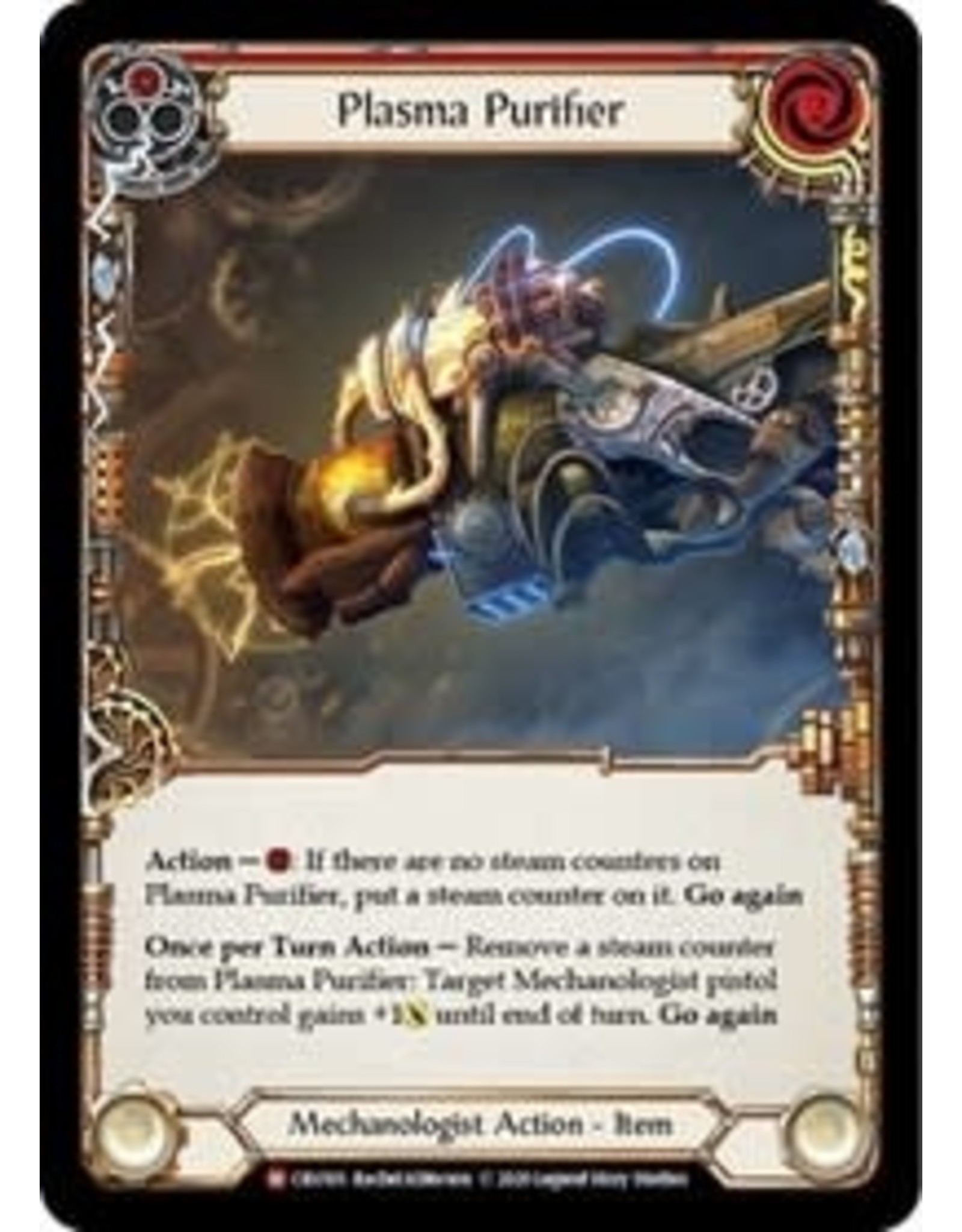 Legend Story Studios Flesh and Blood Single : Plasma Purifier Crucible of War Non Foil