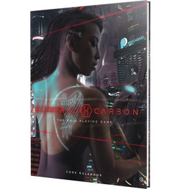 Renegade Game Studios Altered Carbon RPG Core Rulebook (HC)
