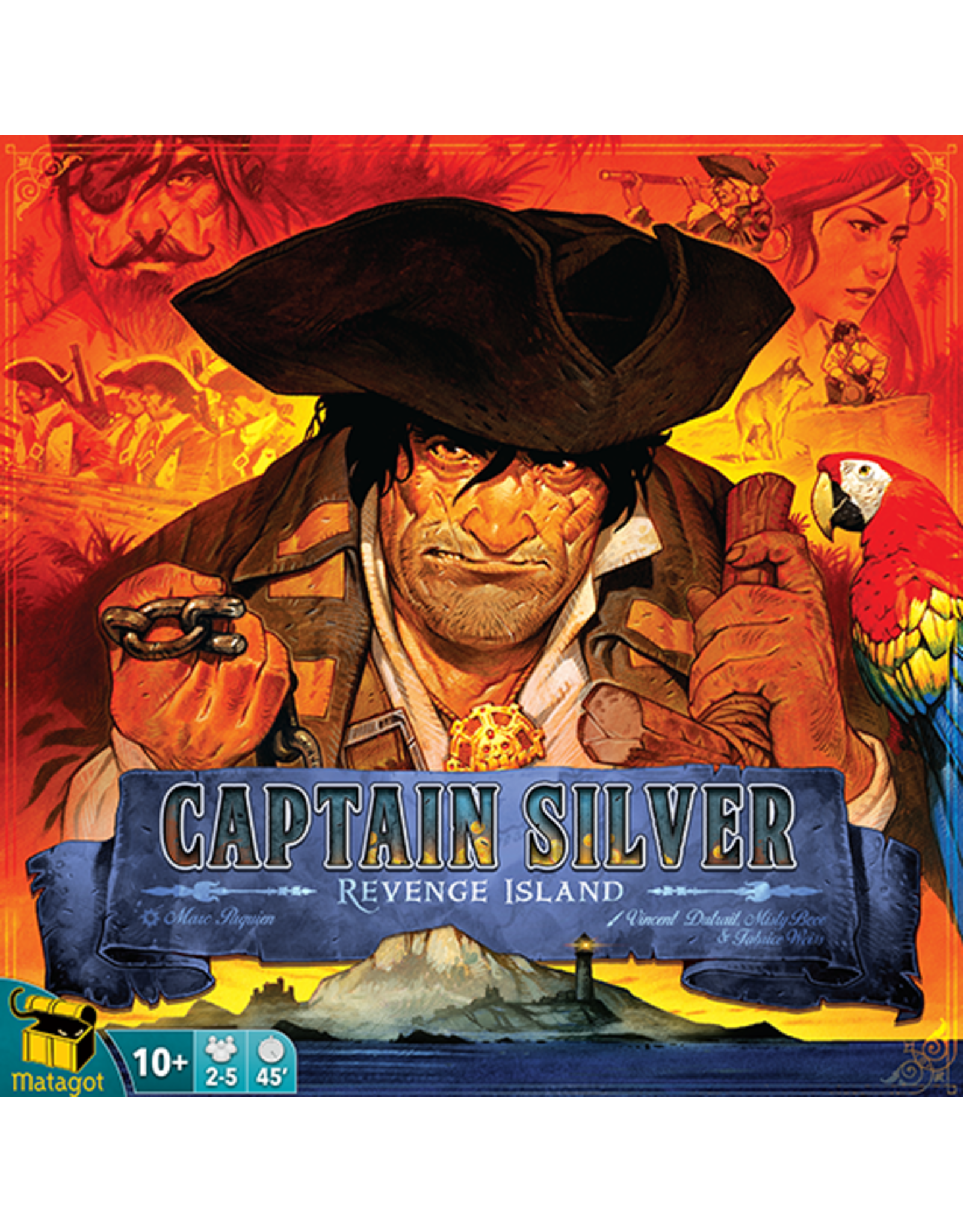 Matagot Treasure Island: Captain Silver-Revenge Island