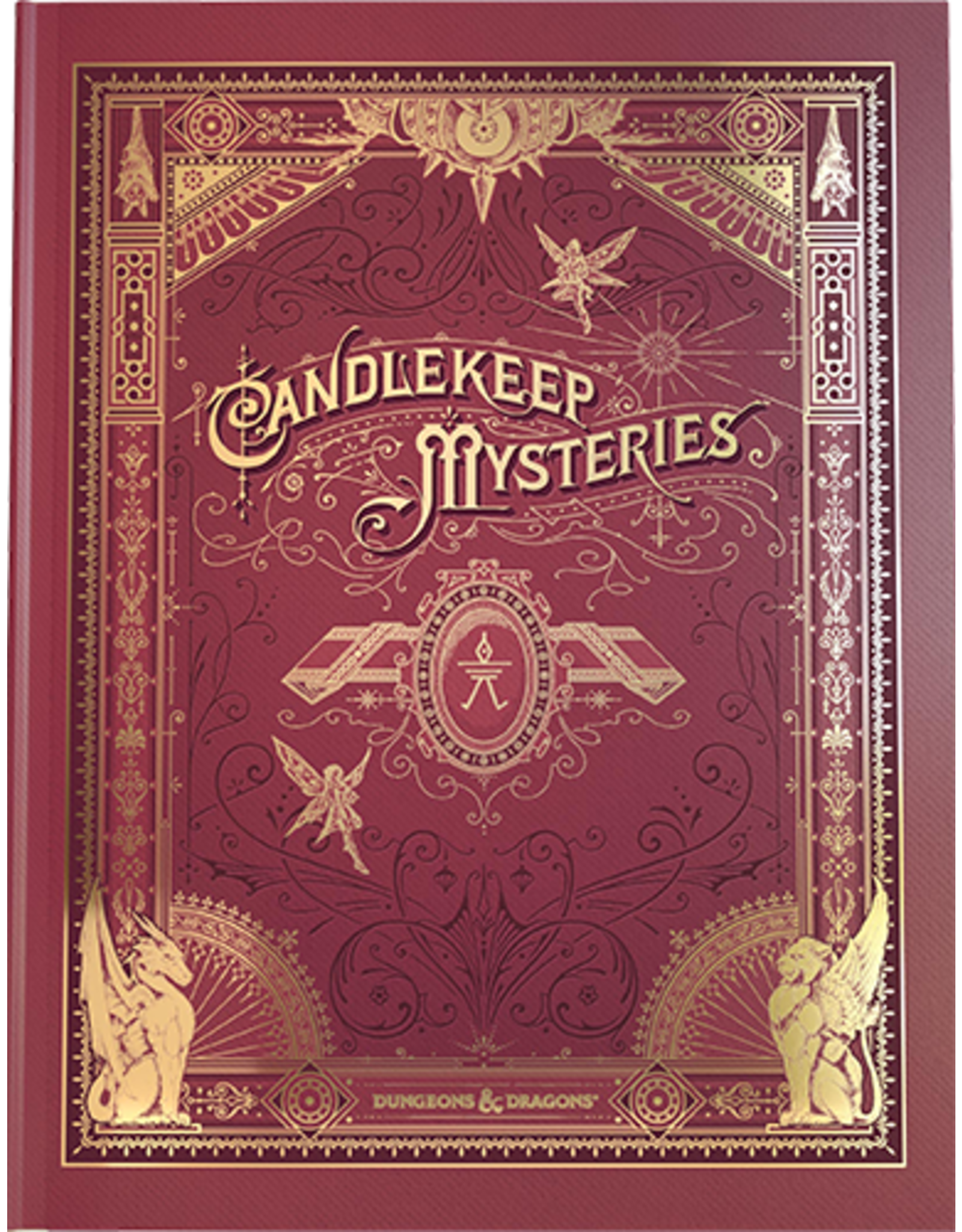 Wizards of the Coast D&D 5th: Candlekeep Mysteries Alt Cover