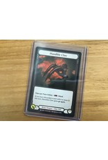 Legend Story Studios Flesh and Blood Single : Mandible Claw Crucible of War Cold Foil