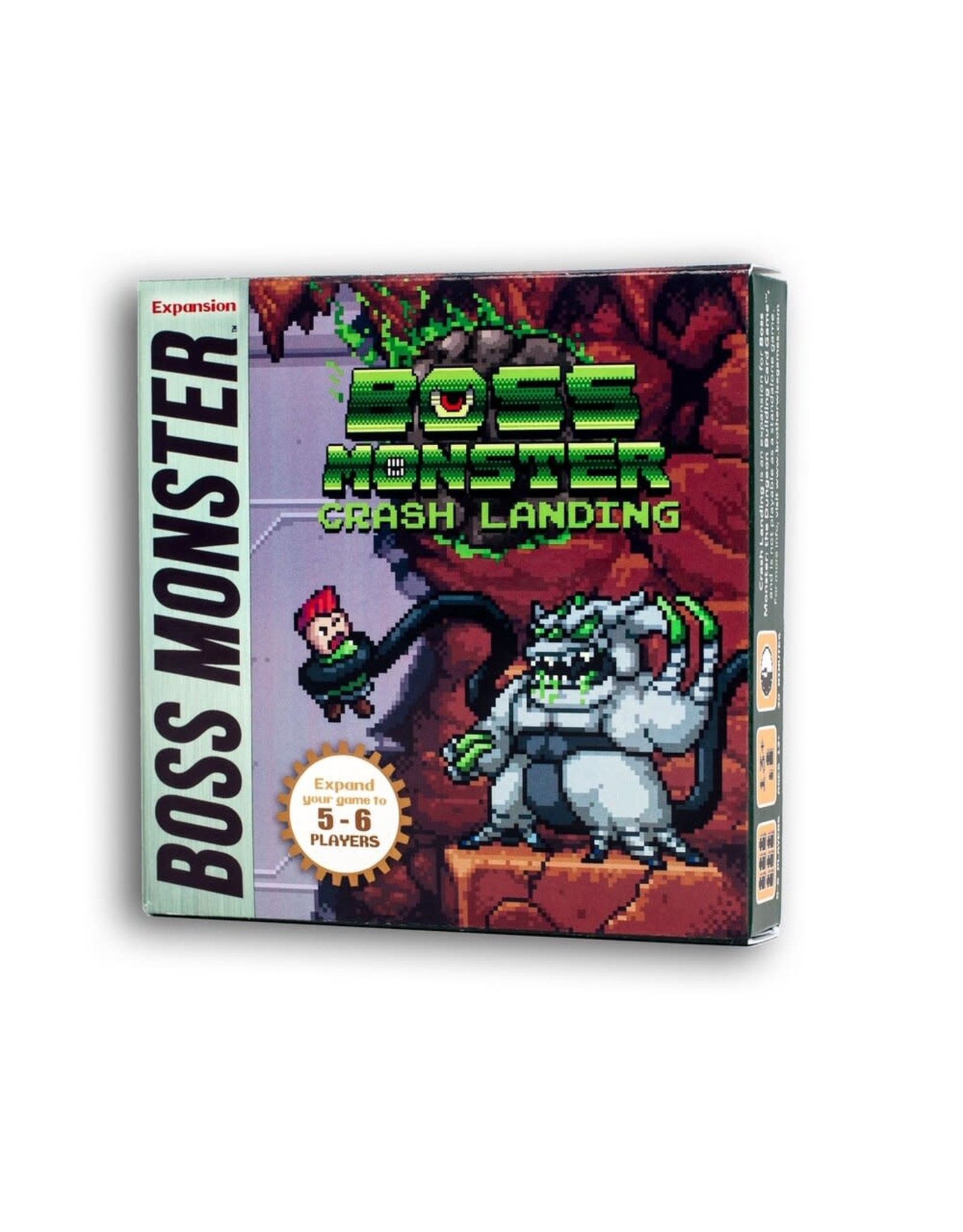 Brotherwise Games Boss Monster: Crash Landing Mini-Expansion