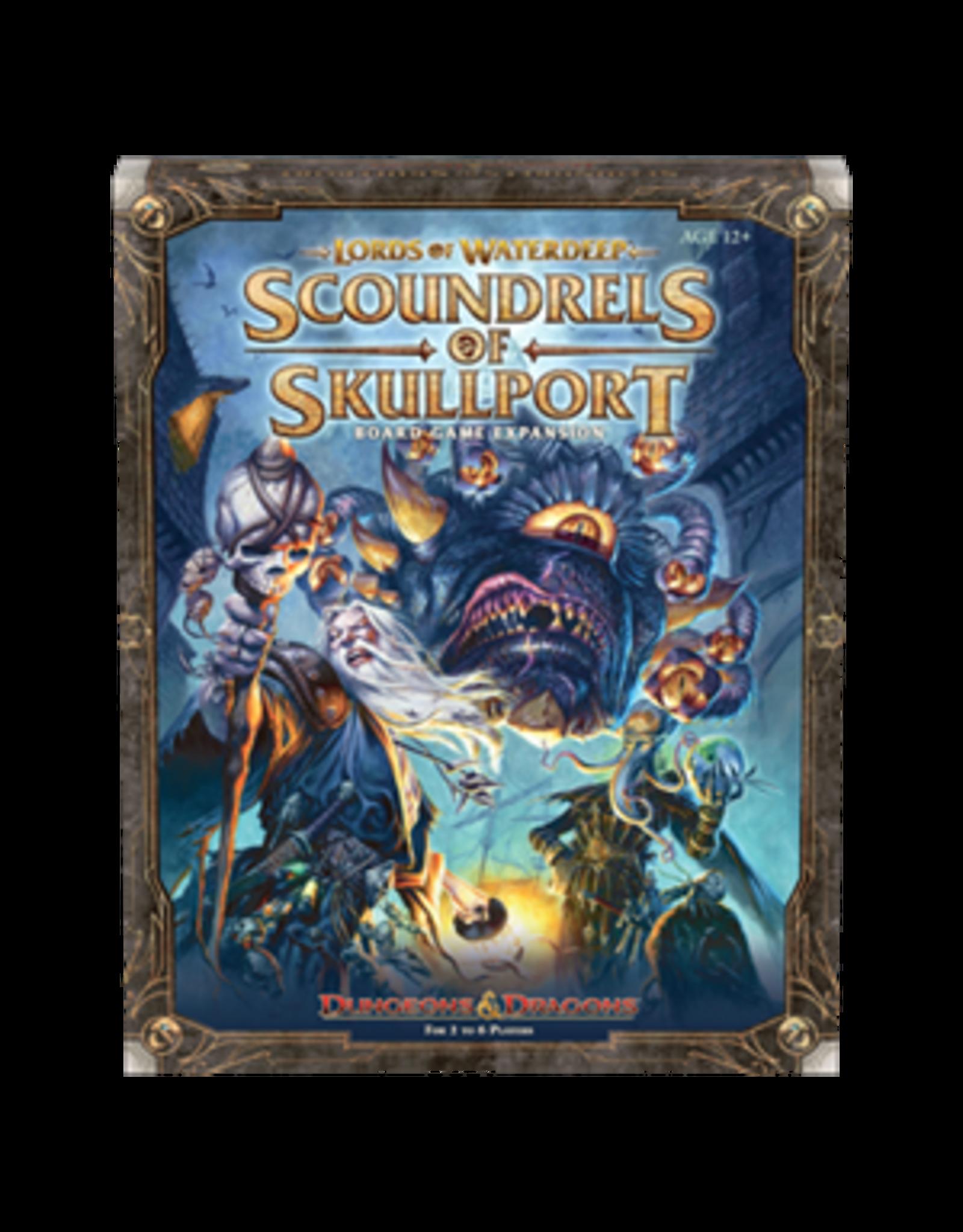 Wizards of the Coast D&D: Lords of Waterdeep Boardgame - Scoundrels of Skullport