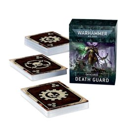 Warhammer 40K WH40K Death Guard Data Cards