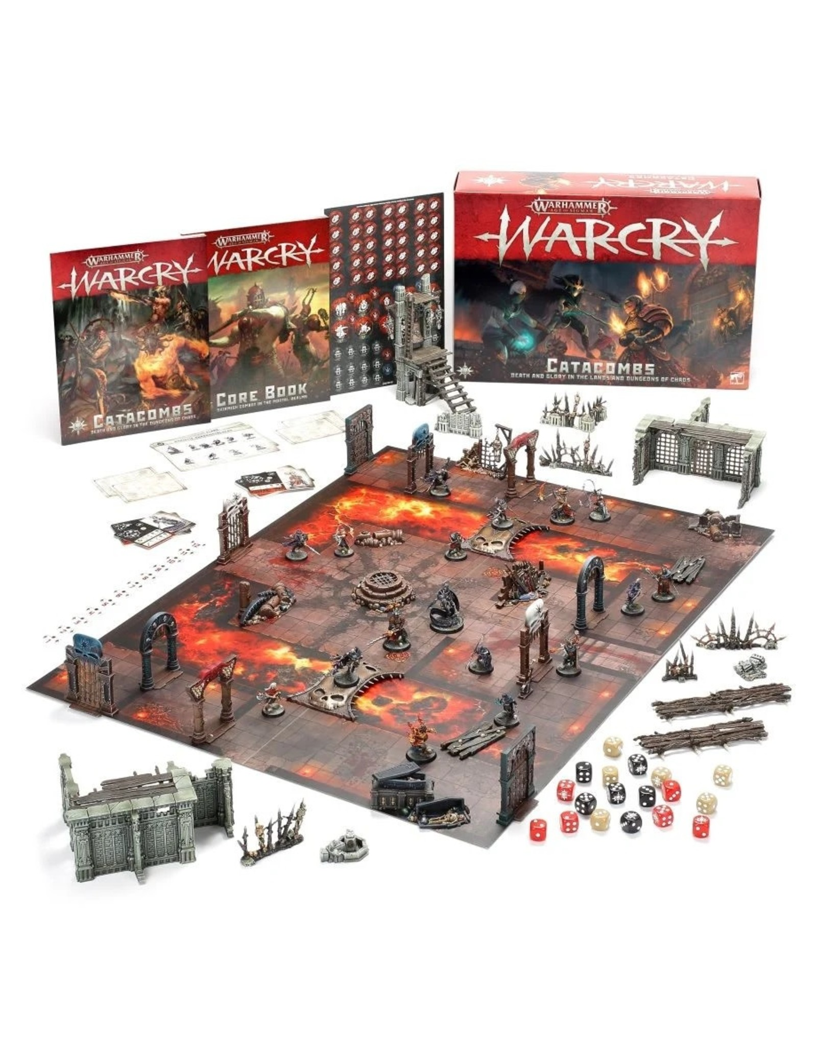 Warhammer AoS WHAoS Warcry - Catacombs