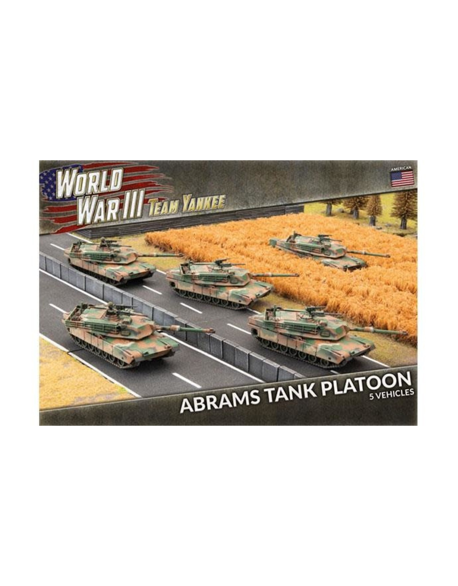 Team Yankee Team Yankee: Abrams Tank Platoon