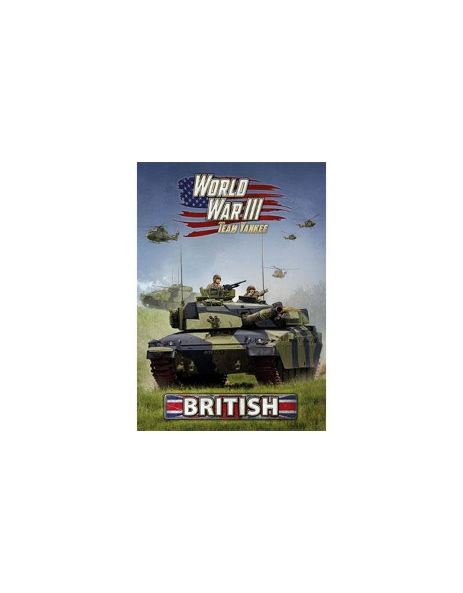 Team Yankee World War III: British Rulebook