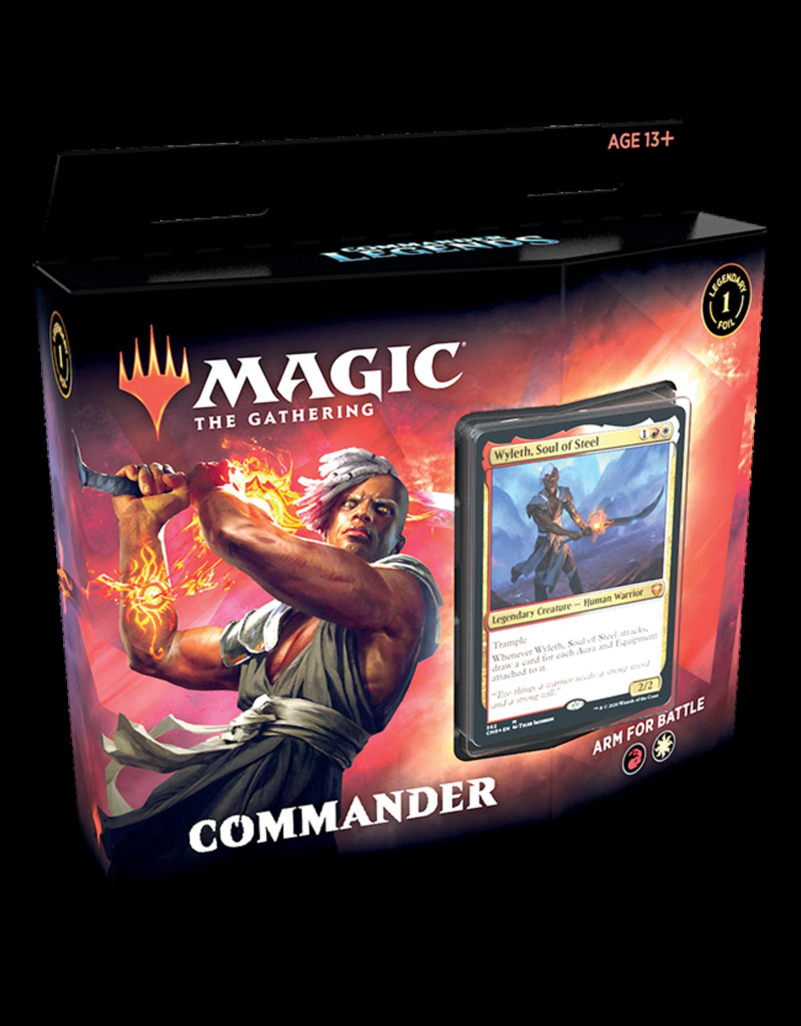 Wizards of the Coast Commander Legends Deck Arm For Battle