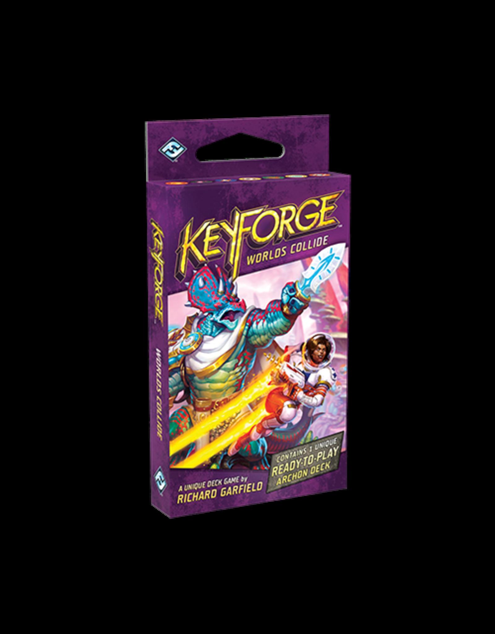 Fantasy Flight Games Keyforge: Worlds Collide Deck Single
