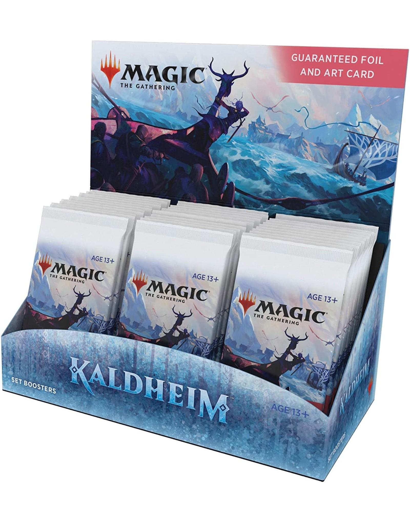 Wizards of the Coast MTG Kaldheim Set Booster Box