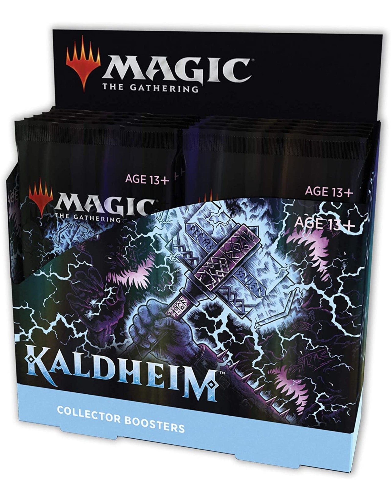 Wizards of the Coast MTG: Kaldheim Collector Booster Box