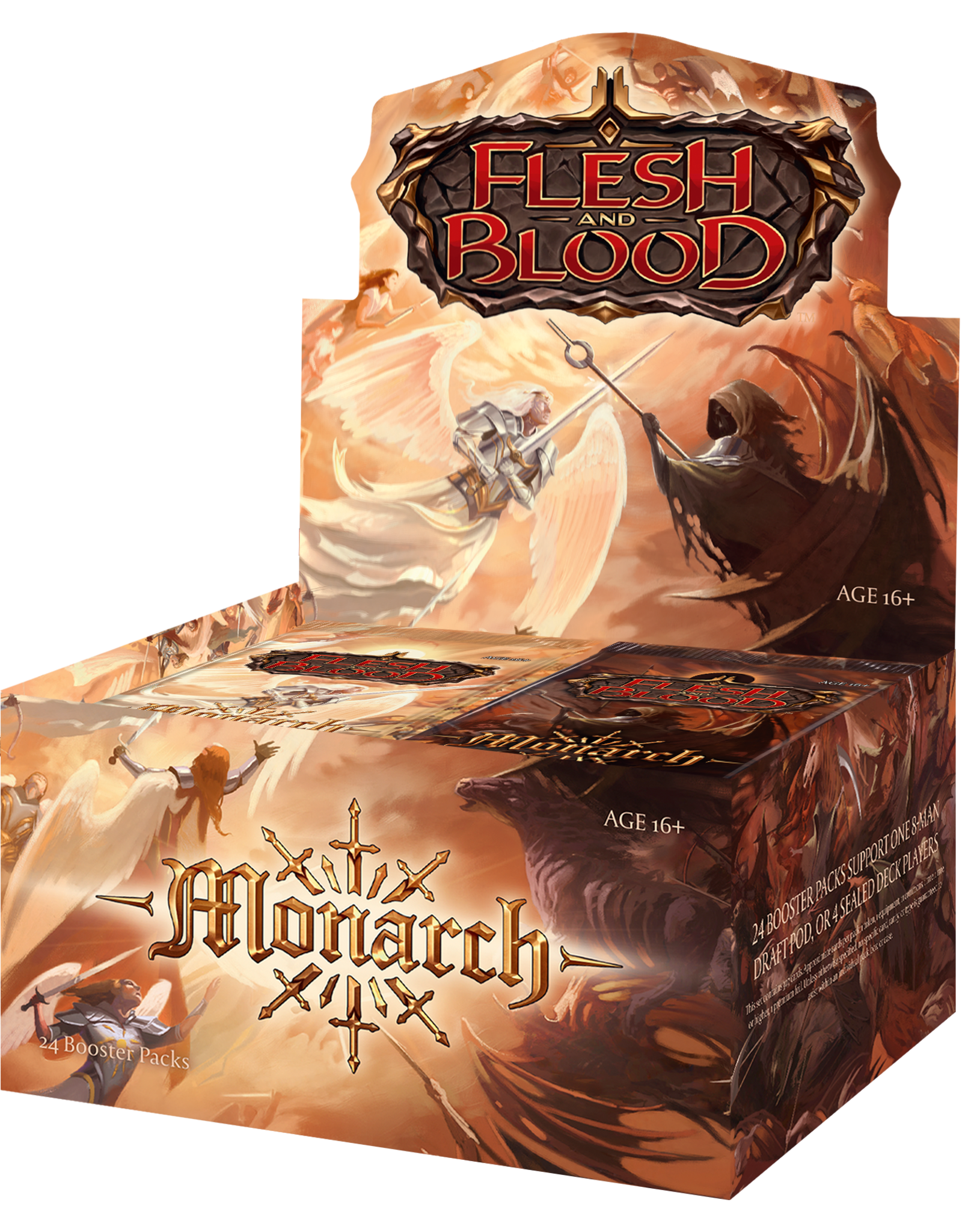 Legend Story Studios Flesh and Blood: Monarch 1st Edition Booster Box