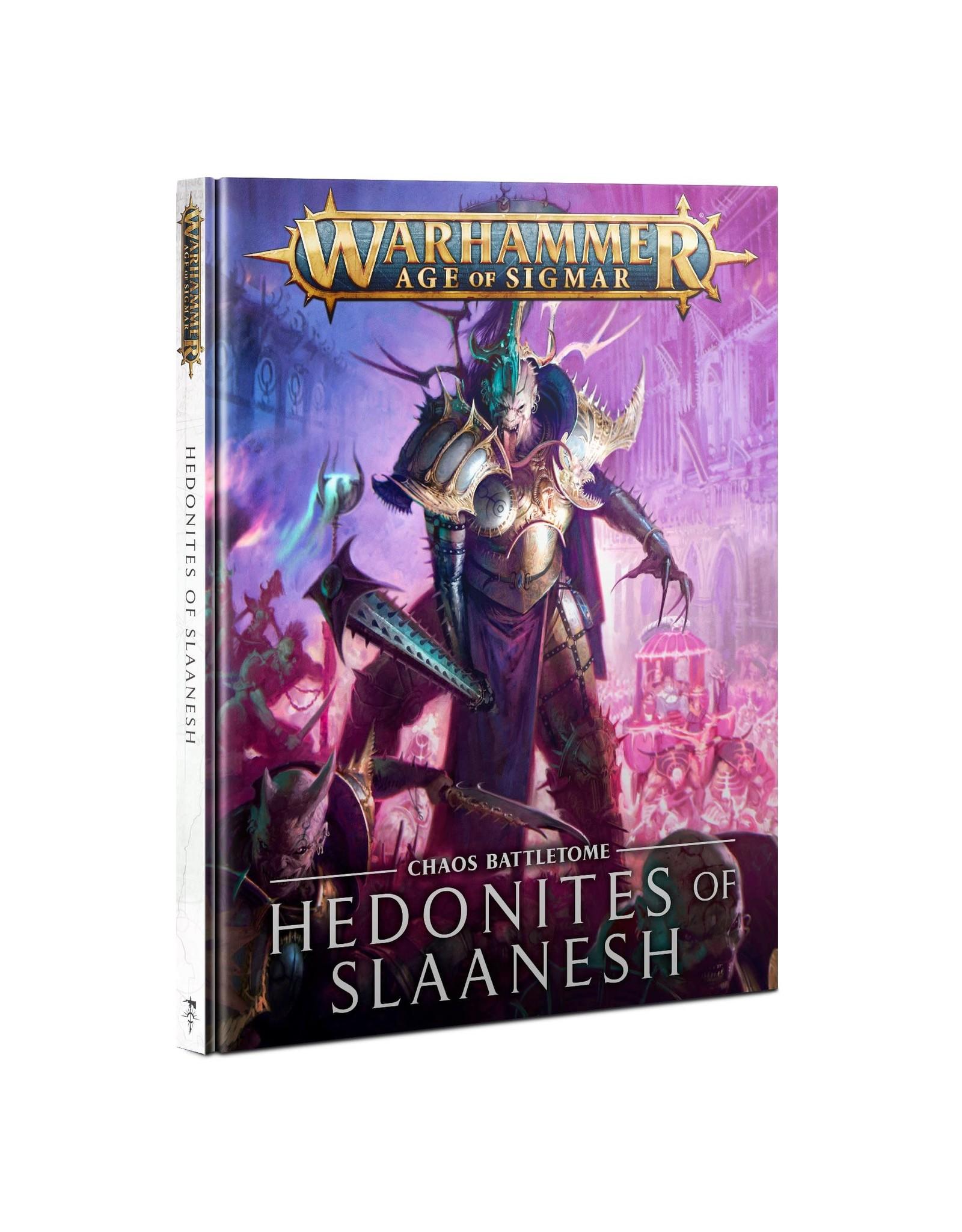 Warhammer AoS WHAoS Chaos Battletome - Hedonites of Slaanesh 2021