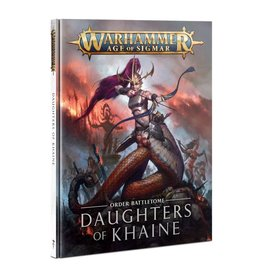 Warhammer AoS WHAoS Order Battletome - Daughters of Khaine